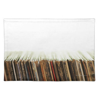 Old Records Place Mat