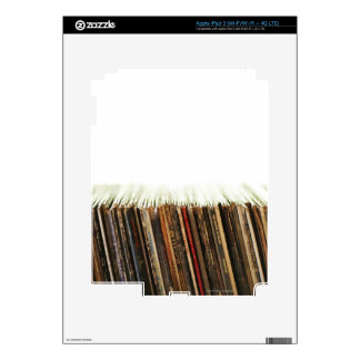 Old Records Skins For iPad 3
