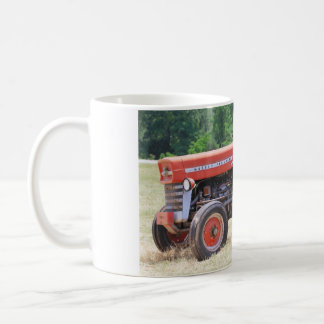 Old Red And Weathered Tractor Coffee Mug