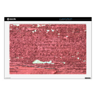 Old Red Barn Wood Peeling Paint aged decay Decals For Laptops