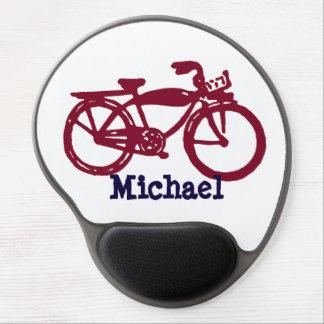 Old red bike gel mousepad