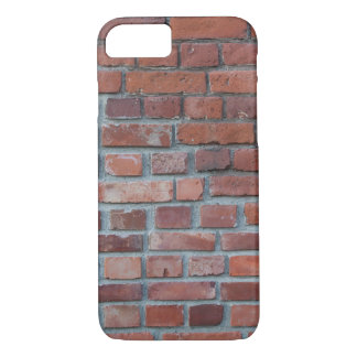 Old red brick wall iPhone 8/7 case