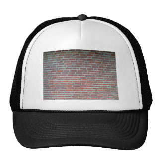 Old Red Brick Wall Texture Hat