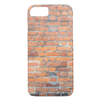 Old red brick wall texture iPhone 8/7 case