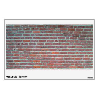 Old Red Brick Wall Texture Room Graphics