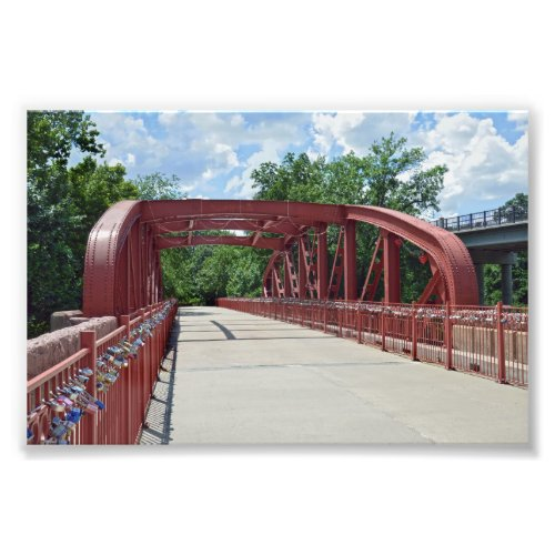 Old Red Bridge, Kansas City, Missouri Photo Print