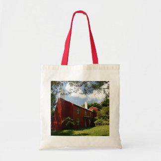 Old Red Cottage, Warwick Parish, Bermuda Budget Tote Bag