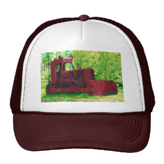 Old Red Earth-mover Trucker Hat Series