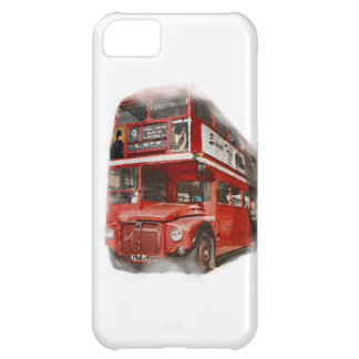 Old Red London Bus iPhone 5C Cover