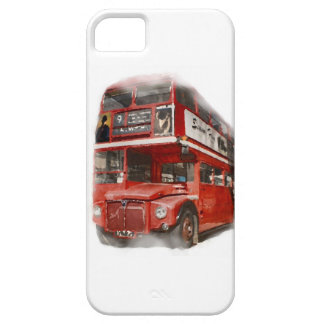 Old Red London Bus iPhone SE/5/5s Case