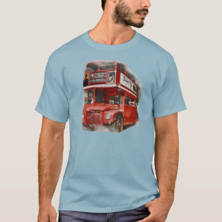 Old Red London Bus T-Shirt