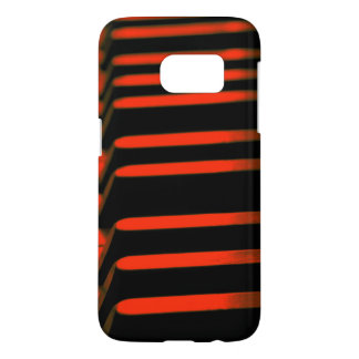 Old red piano keyboard samsung galaxy s7 case