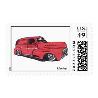 Old Red Postage