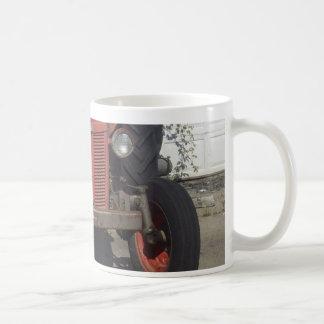 Old Red Tractor Coffee Mug
