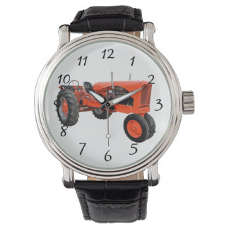old red tractor watch