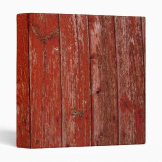 Old red wood binder