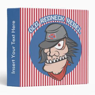 Old Redneck Rebel Avery Binder