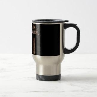 Old reduction gear travel mug