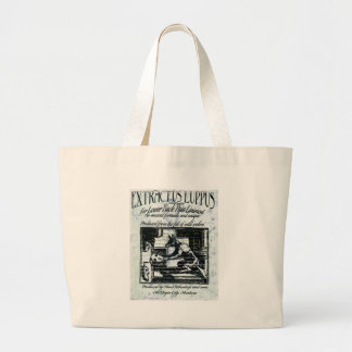 Old remedy large tote bag