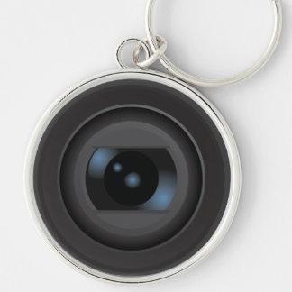 Old Retro Camera Lens Keychain