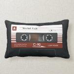 Old Retro Music Cassette Mix Tape Pillow Pillows