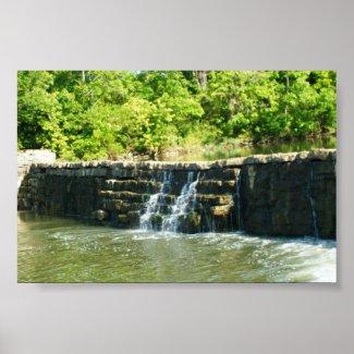 Old Rock Dam print