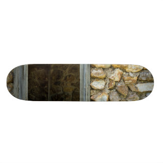 Old Rock Wall Window Skateboard Deck