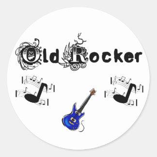 Old Rocker Sticker