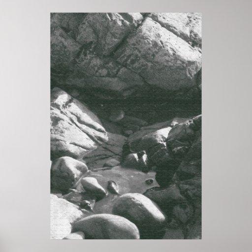 Old Rocks Poster