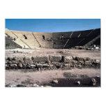 Old Roman amphitheater, Caesaria, Israel Invite