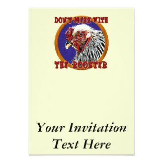 Old Rooster Card