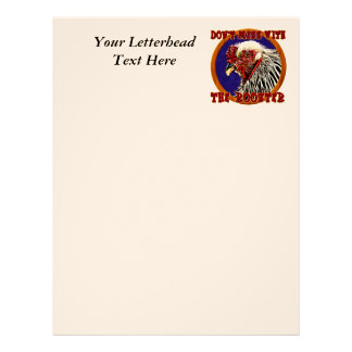 Old Rooster Letterhead Template