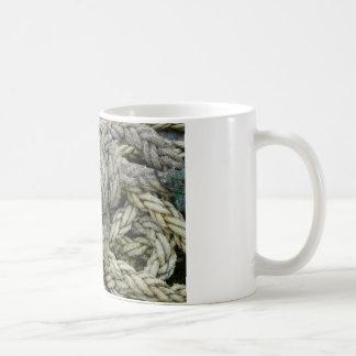 Old rope coffee mug