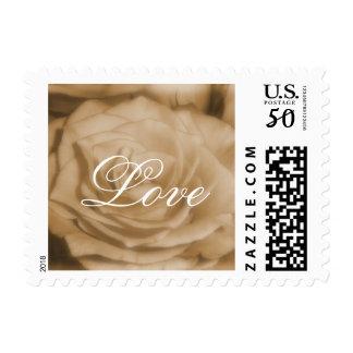 Old Rose Love stamp