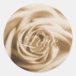 Old Rose Love Sticker