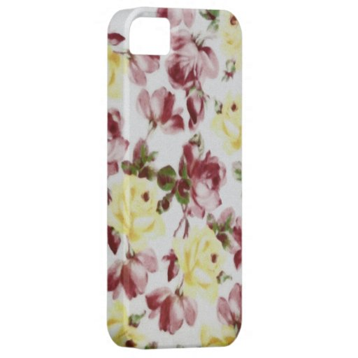Old Roses iPhone SE/5/5s Case