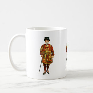 Old Royal Guard Illustration Coffee Mug