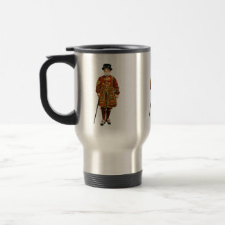 Old Royal Guard Illustration Travel Mug