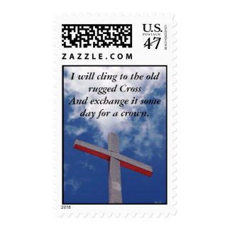 Old Rugged Cross - Easter Message Postage