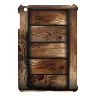 Old Ruin Wreck Wooden Box iPad Mini Case