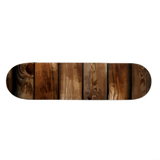 Old Ruin Wreck Wooden Skateboard
