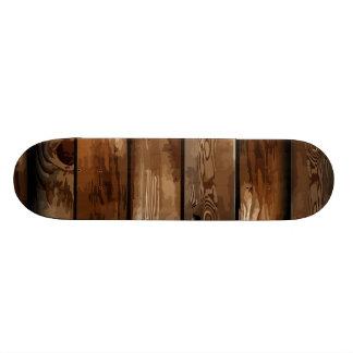Old Ruin Wreck Wooden Skateboard