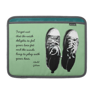 old running shoes case sleeves for MacBook air