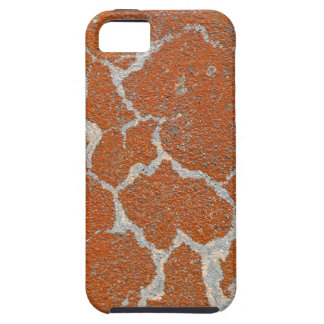 Old russet color on concrete iPhone SE/5/5s case