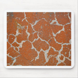 Old russet color on concrete mouse pad