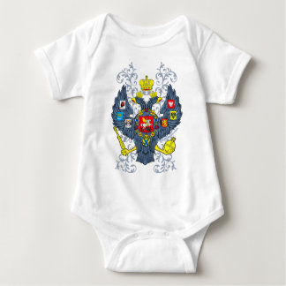 Old Russian Coat of Arms Герб Baby Bodysuit