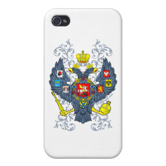 Old Russian Coat of Arms Герб iPhone 4/4S Covers