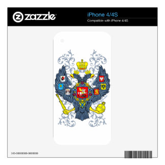 Old Russian Coat of Arms Герб Decals For The iPhone 4