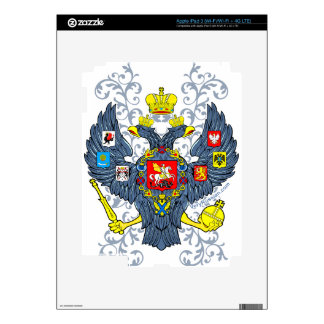 Old Russian Coat of Arms Герб iPad 3 Skins