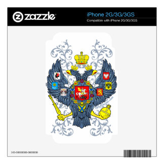 Old Russian Coat of Arms Герб Skin For iPhone 2G